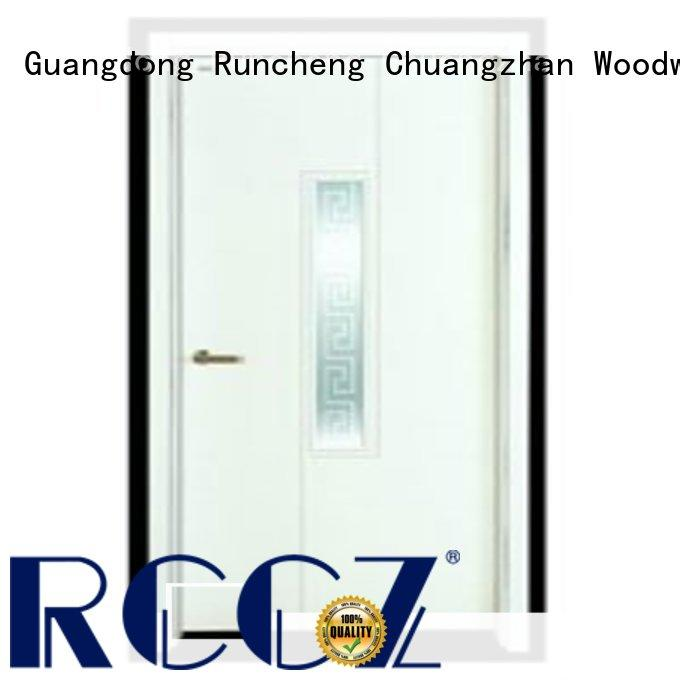Runcheng Chuangzhan reliable wooden flush door price wholesale for villas