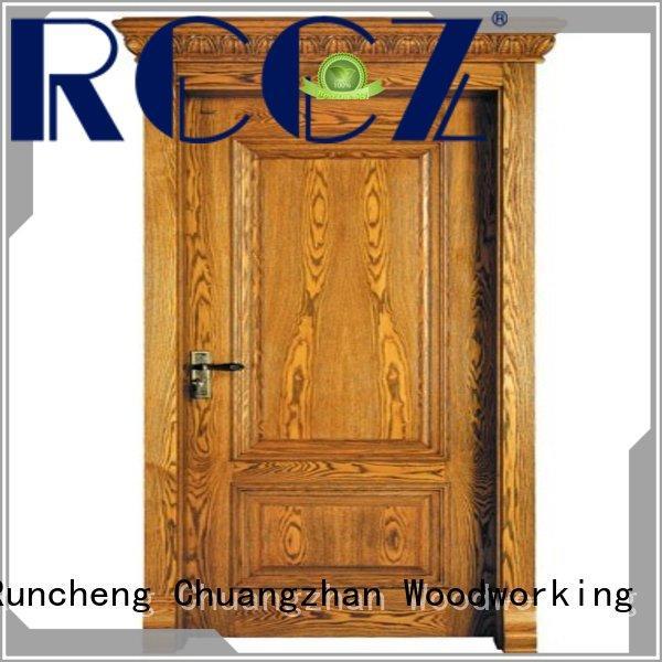 high-grade wood veneer sheets door Supply for hotels