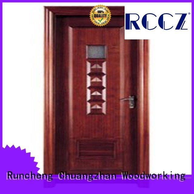 Runcheng Chuangzhan attractive internal bathroom door wholesale for offices