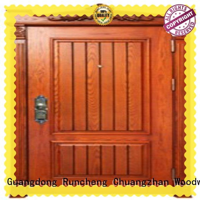 Runcheng Chuangzhan unique steel doors manufacturer for homes