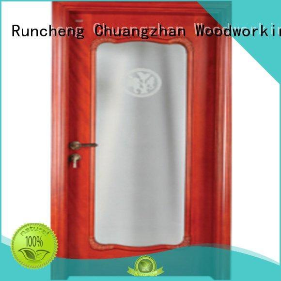 Custom solid wood wooden glazed doors