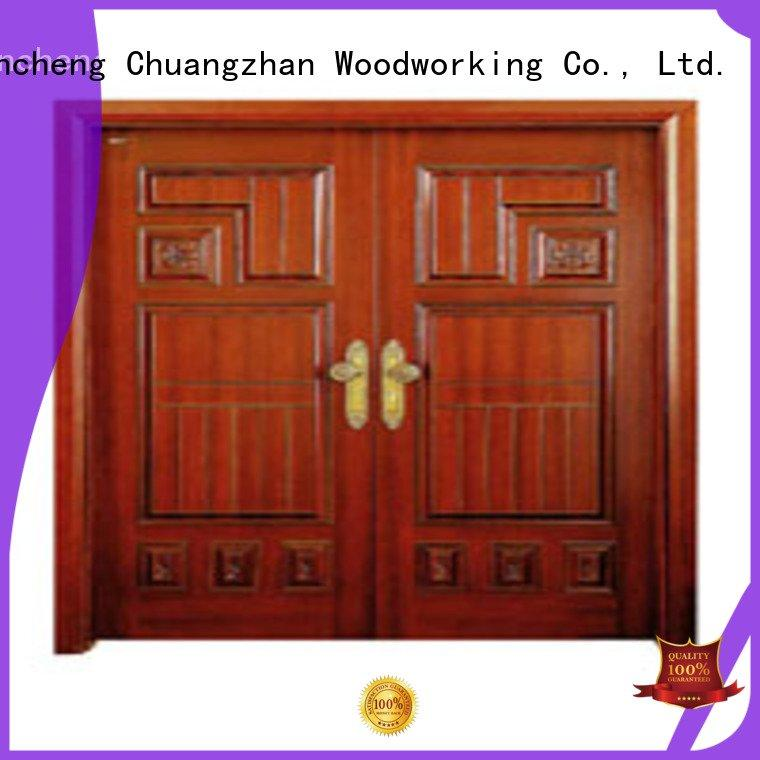 Wholesale door interior double doors Runcheng Woodworking Brand