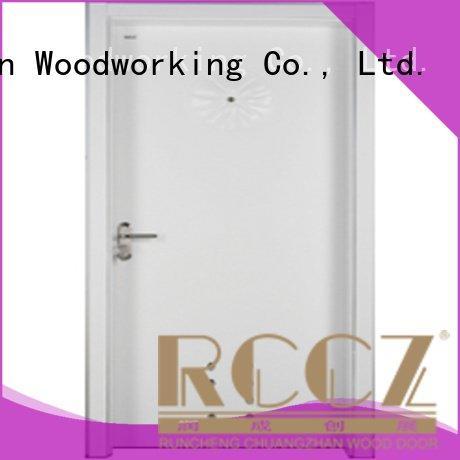 s0112 x0342 bathroom s0092 Runcheng Woodworking wooden bathroom door