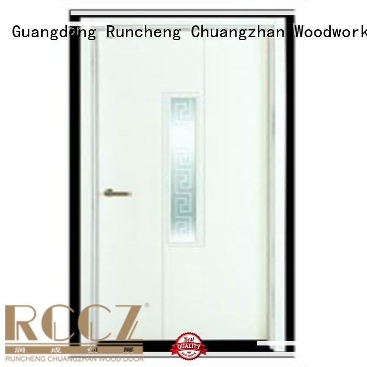 Runcheng Chuangzhan popular wooden flush door series for offices