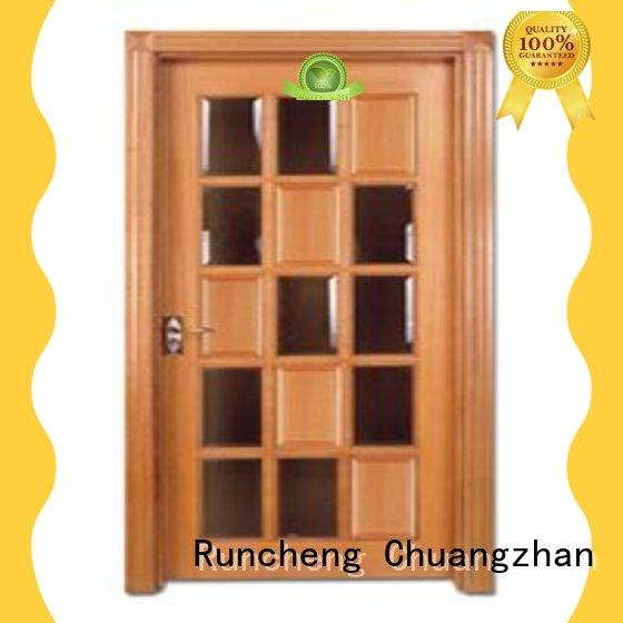 Runcheng Chuangzhan high-grade solid bedroom doors wholesale for offices