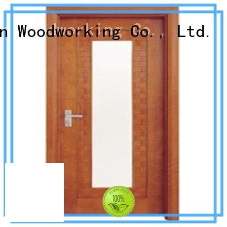 Runcheng Chuangzhan consummate white glazed interior doors wholesale for hotels