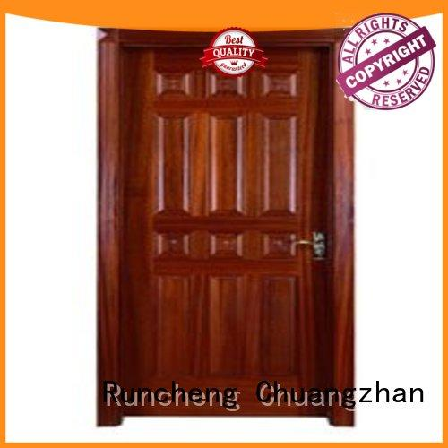 eco-friendly bedroom door designs for homes supplier for homes Runcheng Chuangzhan