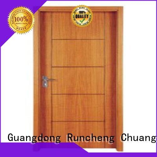 popular wooden flush door manufacturers modern for offices Runcheng Chuangzhan