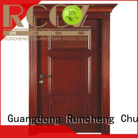 durability solid wood compound door bathroom for business for homes