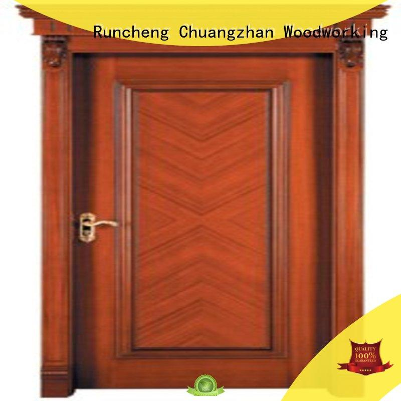 Runcheng Chuangzhan door solid steel front door supplier for indoor