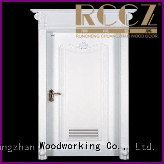 internal white mdf composited wooden door mediterranean2 mediterranean1 sunshine Runcheng Woodworking