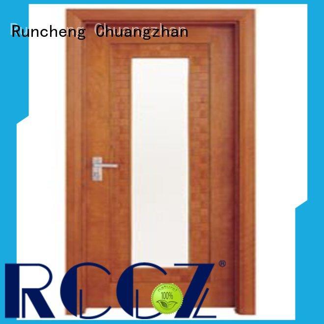 Runcheng Chuangzhan durability white glazed interior doors company for homes