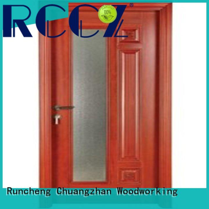 Runcheng Chuangzhan pure double glazed doors Supply for homes