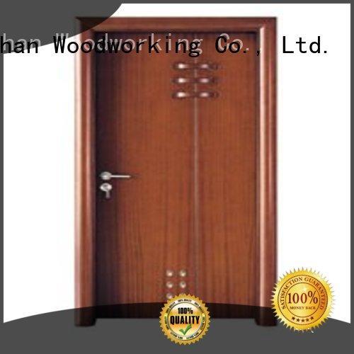 door wholesale bathroom Runcheng Woodworking Brand modern bathroom door factory