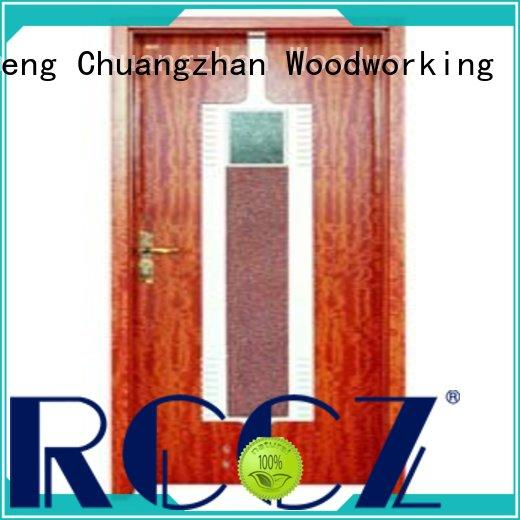 Runcheng Chuangzhan eco-friendly bathroom doors for sale factory for hotels