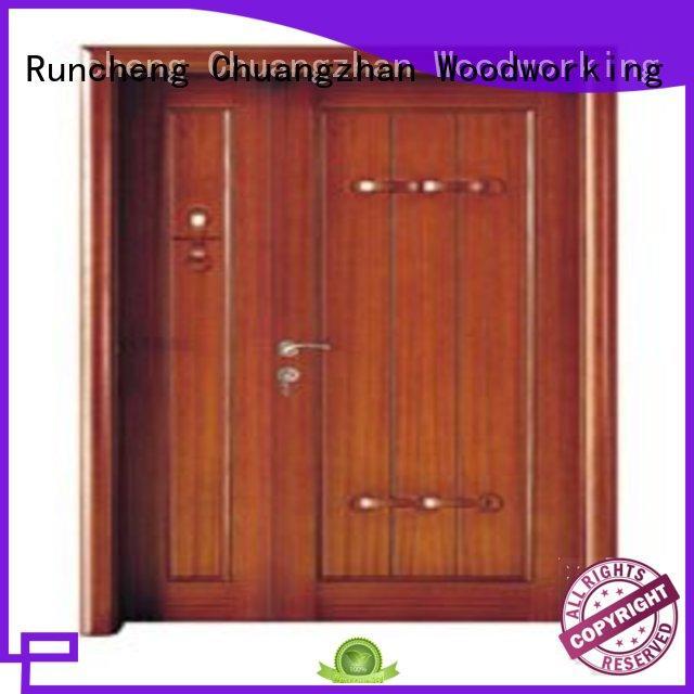 Runcheng Chuangzhan high-grade double front doors factory for homes