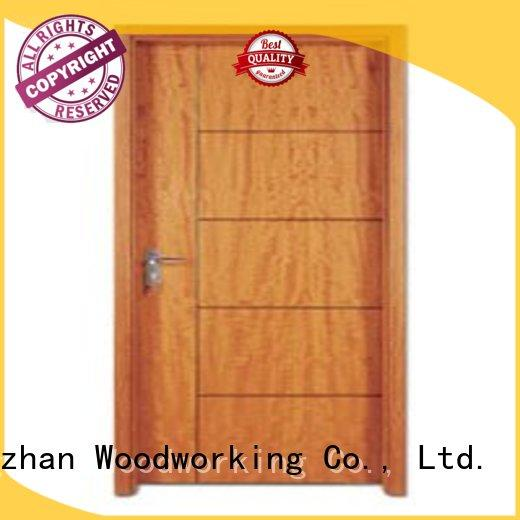 flush mdf interior wooden door door hot selling flush Runcheng Woodworking Brand company