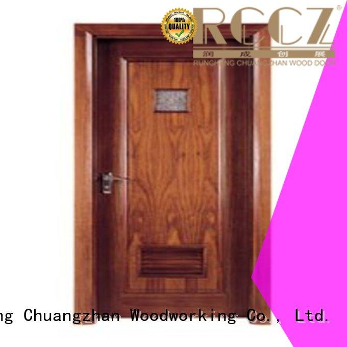 hot selling door Runcheng Woodworking Brand flush mdf interior wooden door