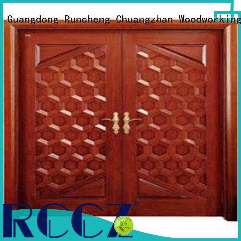 eco-friendly wooden double doors high-grade manufacturers for hotels