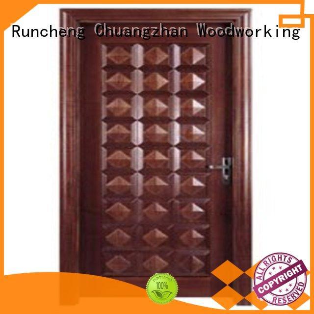 Runcheng Chuangzhan durability bedroom door designs in wood factory for offices