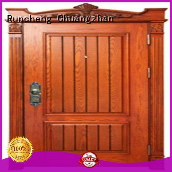 Runcheng Chuangzhan steel steel doors series for hotels