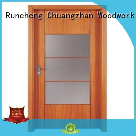 flush mdf interior wooden door door flush wooden flush door durable Runcheng Woodworking Brand