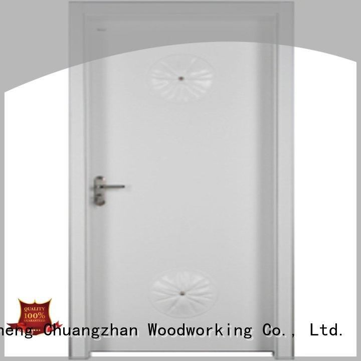 bedroom door designs in wood door s011 Runcheng Woodworking Brand