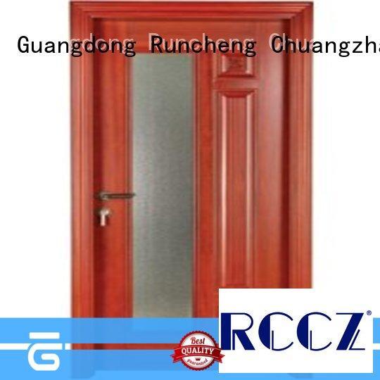 Runcheng Chuangzhan durability double glazed doors series for homes