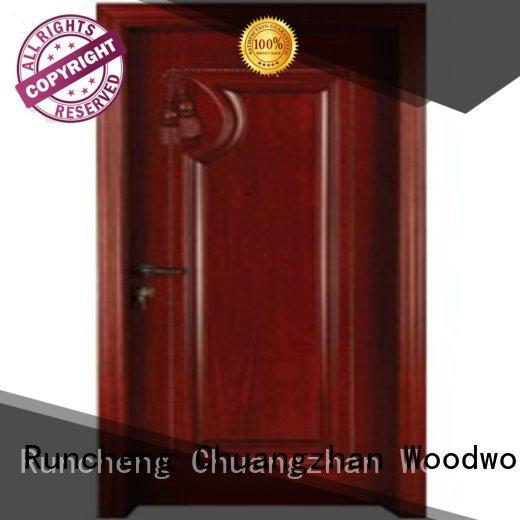 solid core bedroom door bedroom door Runcheng Woodworking Brand bedroom door design