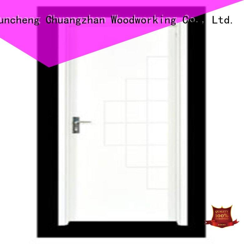 pp0152 pp0014 flush mdf interior wooden door Runcheng Woodworking