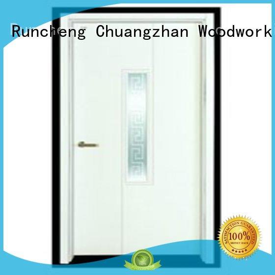 Runcheng Woodworking Brand door hot selling custom flush mdf interior wooden door