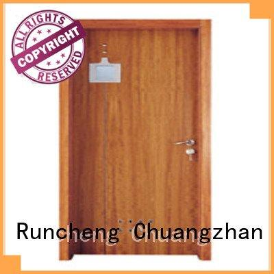 d0072 x0272 Runcheng Woodworking solid wood bathroom doors