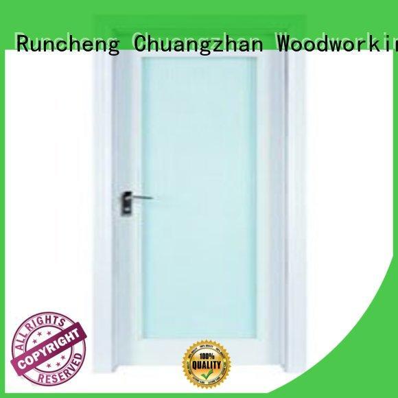 hardwood glazed internal doors glazed Bulk Buy door Runcheng Woodworking