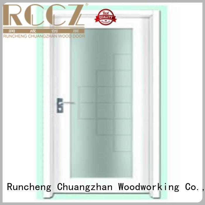 flush door durable hot selling plywood flush internal doors Runcheng Woodworking Brand