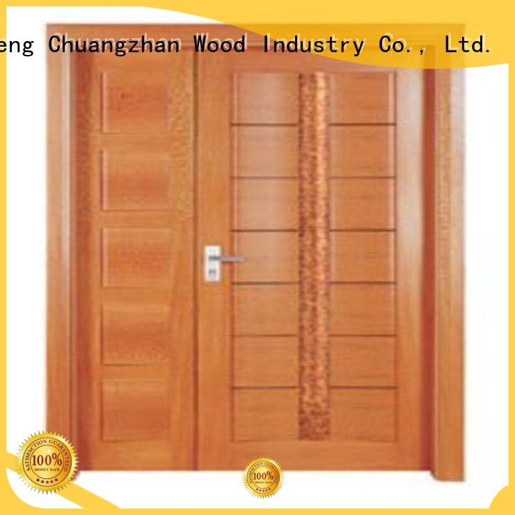 white double doors double door Warranty Runcheng Chuangzhan