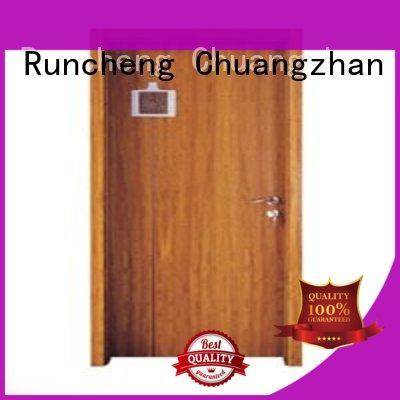 Runcheng Chuangzhan durability wooden bedroom door factory for homes