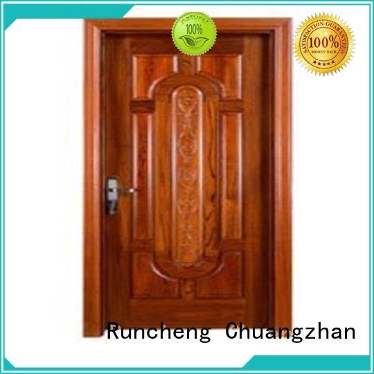 Runcheng Chuangzhan door bedroom door designs in wood manufacturers for offices