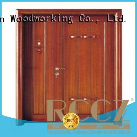 Wholesale double interior double doors Runcheng Woodworking Brand