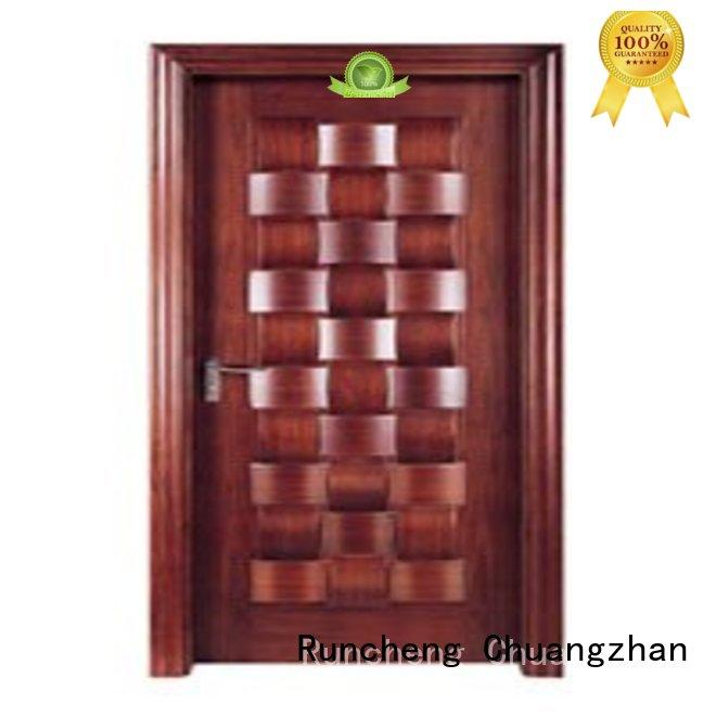 Runcheng Chuangzhan high-grade wooden bedroom door series for homes