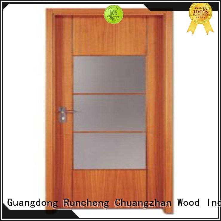 wooden flush door design for indoor Runcheng Chuangzhan