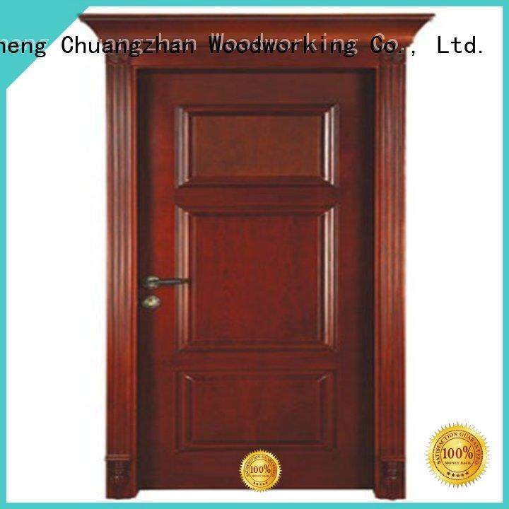 solid wood bedroom composite door kitchen solid quality solid wood compound door door Runcheng Woodworking Brand