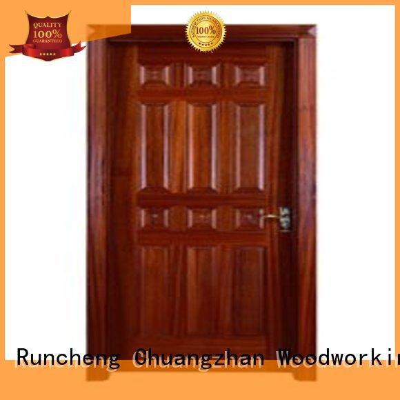 Runcheng Woodworking Brand bedroom door custom bedroom doors for sale