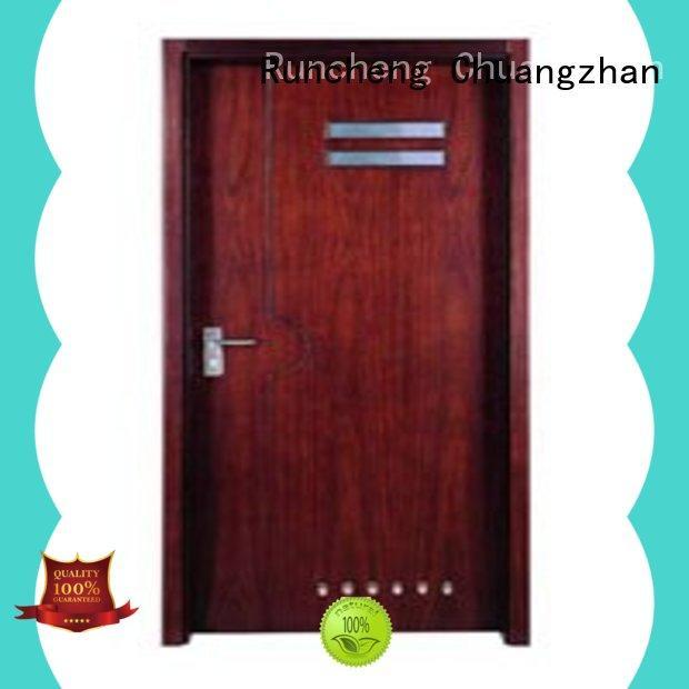 Runcheng Chuangzhan modern wooden flush door manufacturer for hotels