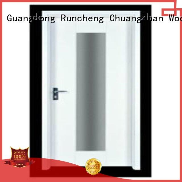 Wholesale door durable wooden flush door Runcheng Chuangzhan Brand