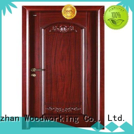 Quality Runcheng Woodworking Brand door durable interior wooden door with solid wood