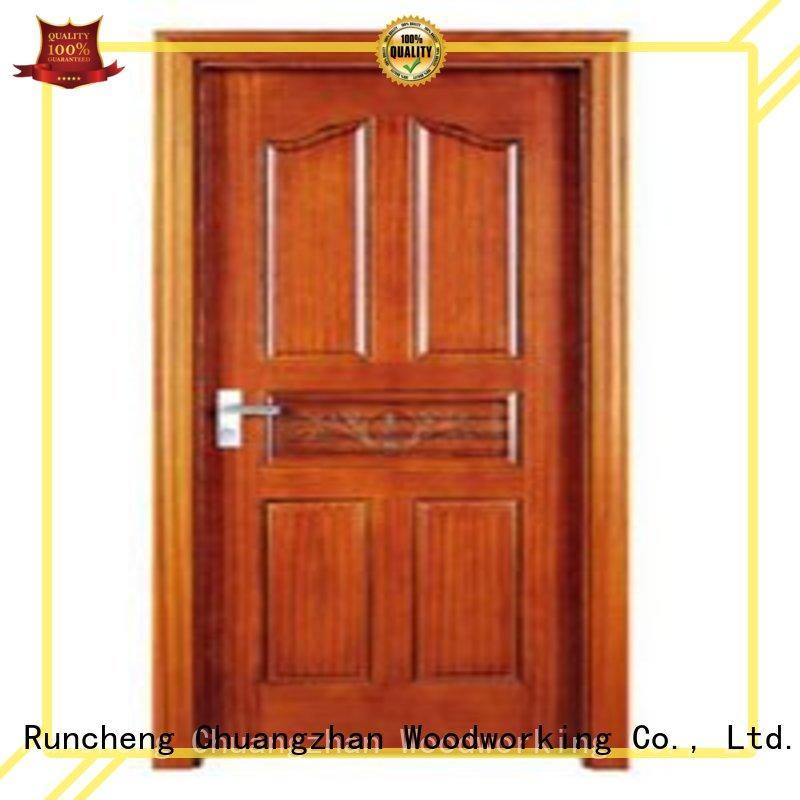 Hot bedroom design door Runcheng Woodworking Brand bedroom door