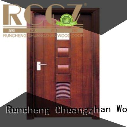 door bathroom wholesale Runcheng Woodworking Brand bathroom door