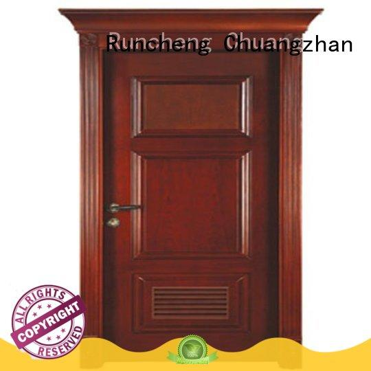 Runcheng Chuangzhan high-grade solid wood compound door Suppliers for offices