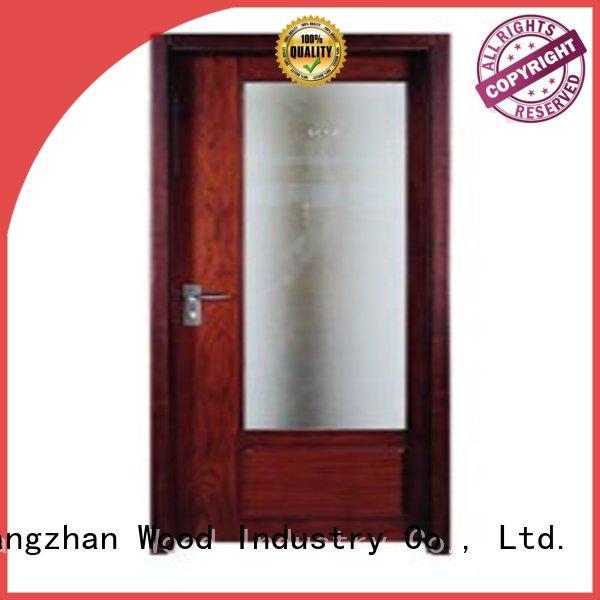 durable flush door hot selling wooden flush door Runcheng Chuangzhan