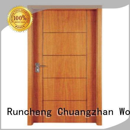 Runcheng Woodworking Brand pp004 pp0013 pp0152 flush mdf interior wooden door